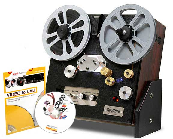 Transfer Super 8 Standard 8mm Cine Film To Dvd And Digital Mov Files For Editing